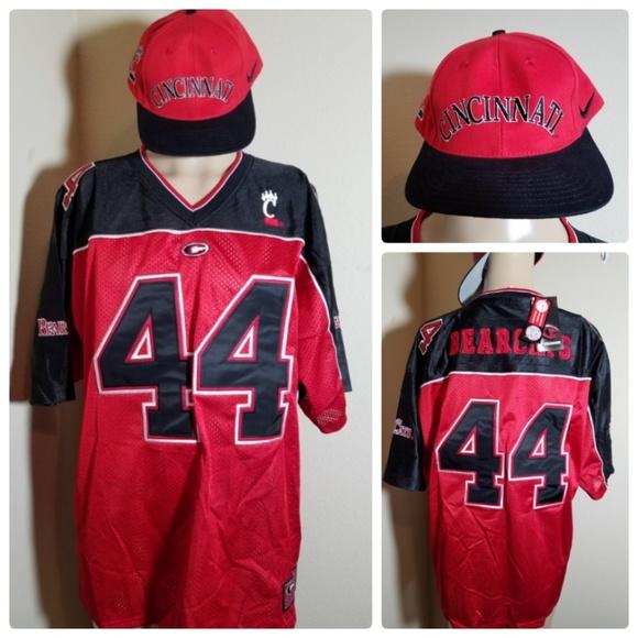 meet c3468 3144a NWT Cincinnati Bearcats NCAA Team Jersey  44 L